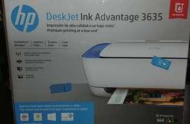 Impresora Hp Deskjet Advantage 3635