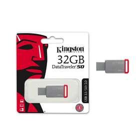 KINGSTON METALICO MEMORIA USB 32GB DATATRAVELER DT50