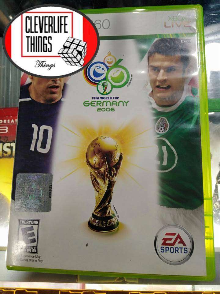 THE WORLD CUP GERMANY 2006 XBOX 360 JUEGO ORIGINAL USADO OFICIAL XBOX CON MANUAL 0