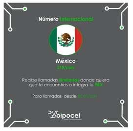 Número Internacional Voip - México - Telefonía Ip
