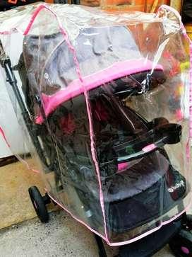 Coche Ebaby deportivo más forro para lluvia
