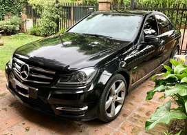 Mercedes Benz C250 Edition C año 2013