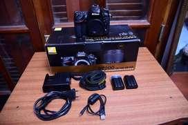 Vendo Body Nikon D7200 ( 1 año de uso )