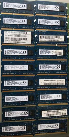 MEMORIA RAM DDR3 DE 4GB PARA PORTATIL PC3L-12800S -12800 S