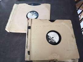 15 discos de pasta de carlos gardel, originales de disco odeon de principio de siglo