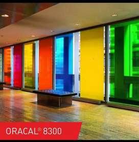 Venta de Vinil Adhesivo Transparente para Dar Color al Vidrio
