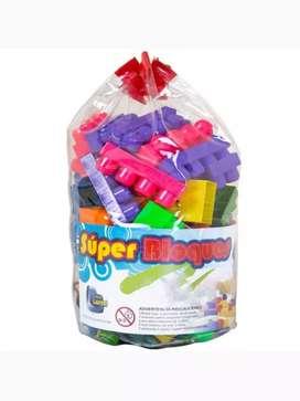 Bloques armatodo para niños de 54 piezas