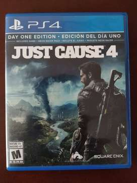 Vendo Just Cause 4 para ps4