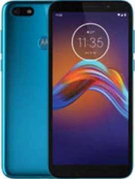 Motorola E6 play nuevo libres - recibo tarjetas