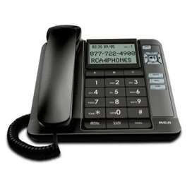 Telefono Fijo Oficina Casa Alambrico Pantalla Lcd Altavoz