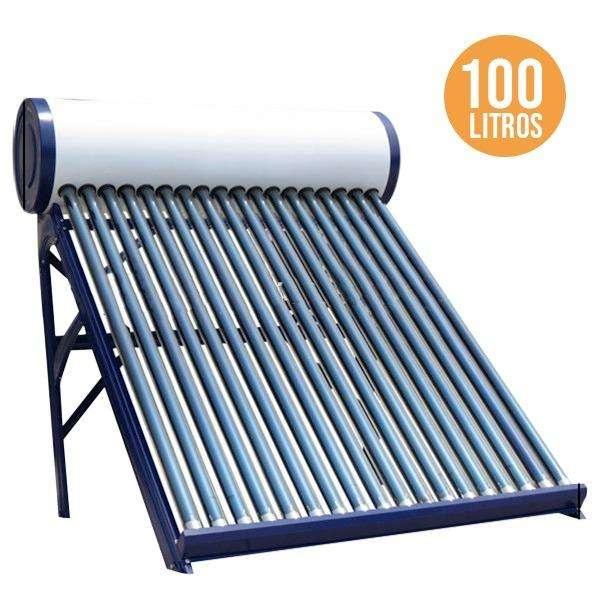 Termotanque Solar 110 Litros Barra Antisarro de regalo 0