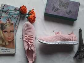 Zapatillas colores pastel