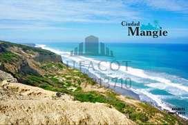 Vive sobre acantilado de 90 metros de altura,Urbanizacion Privada Ciudad Mangle,Terrenos Urbanizados,A 35 min de MantaS1