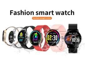 Smart Watch Gran autonomia Reloj Inteligente UNISEX Super Batería Elegante Correa Intercambiable Negro Azul, Rosad- 8888