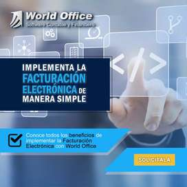 Facturacion electronica en world office