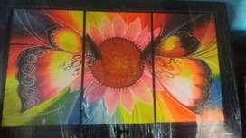 Cuadro en excelente estado. Contramarcado (artista) colorido colores vivos
