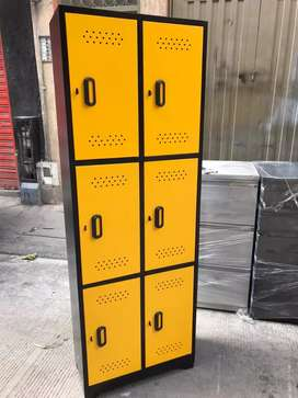 Locker de 6 puestos nuevos