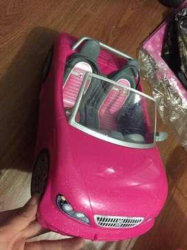 Se vende carro Barbie Rosado