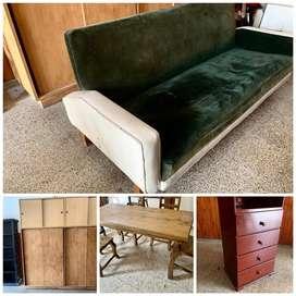 Vendo todo (muebles) por mudanza, Urgente!!