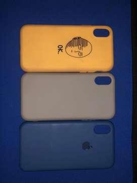 Vendo protectores del iphone x/xs