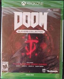 Doom Slayers Collection XBox one nuevo y otros incluye envío oferta!
