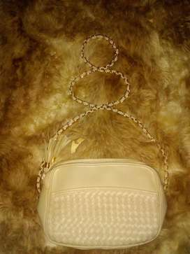 Cartera Beig Impecable Llevo