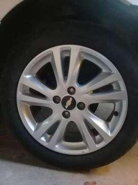 Vendo las 4 ruedas del Chevrolet Chevrolet ágile  en excelente estado