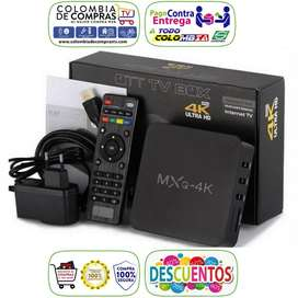 Mini Tv Box 4k Ram 4GB D.D 32GB Android 8, Nuevos, Originales, Garantizados.