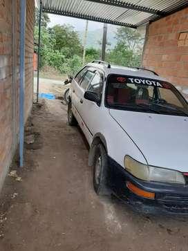 auto recién reparado con soat vigente la positiva y tarjeta de propiedad a no nombre.