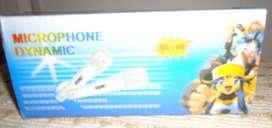 Microfono Karaoke Dynamic Con Cable