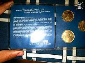 Monedas mundial 1978