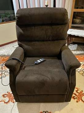 Sillon reclinable electrico