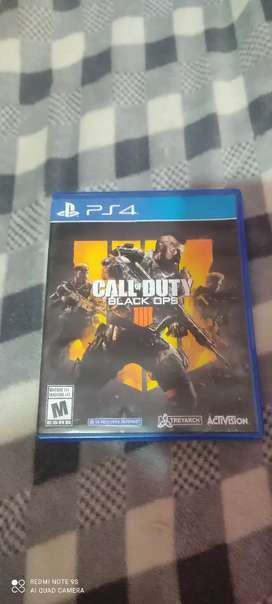 Calle of duty black ops 4