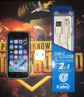 Iphone 5 - Batería nueva - Cargador original