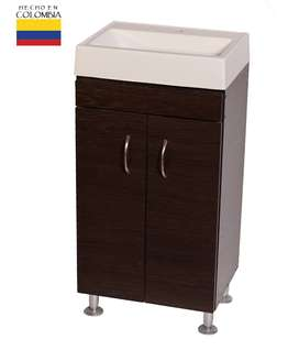 COMBO LAVAMANOS Y MUEBLE PARA BAÑO 41,5 X 32 CM