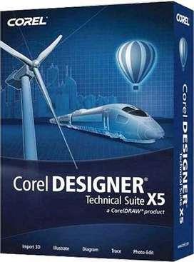 VENDO COREL DESIGNER Technical Suite X5