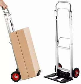 Carreta de carga de aluminio plegable