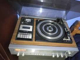 Equipo de sonido vintage