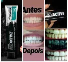 Gel Dental ProActive Hinode con Carbón Activado y Aloe Vera