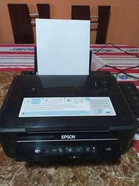 Impresora EPSON L355 con WI-FI (sistema de Tinta continuo- Original)