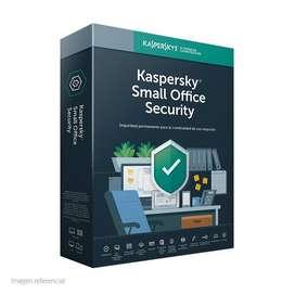 kaspersky small office security 10 pcs  1 servidor, 1 año, Presentación en caja.