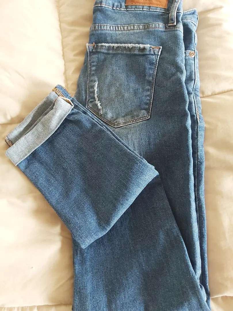 Jeans elastizado talle 26. Casa blanca 0