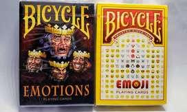 Cartas Bicycle Emojis / Emotions
