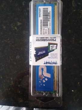 MEMORIA RAM PC2 2GB