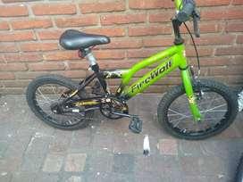 Bicicleta cross rod 16 Excelente nene BELGRANO