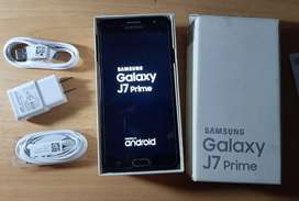 Samsung Galaxy J7 Prime 9/10 S/.450