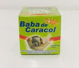 Crema De Baba De Caracol con Extracto de Sabila Nutre y Restaura la Piel