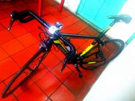 Bicicleta de ruta super look