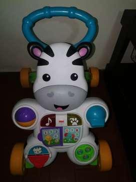 Caminador de zebra barato y funcionando