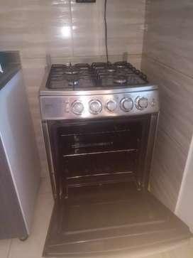Estufa con horno 4 puesto